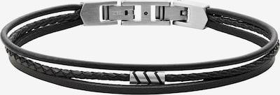FOSSIL Náramok - čierna / strieborná, Produkt