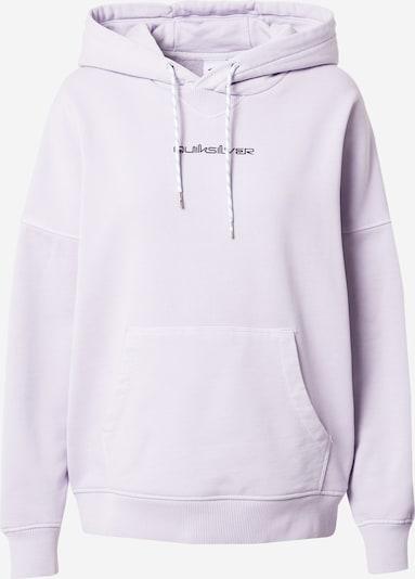 QUIKSILVER Sweat-shirt en lilas / rose / noir, Vue avec produit