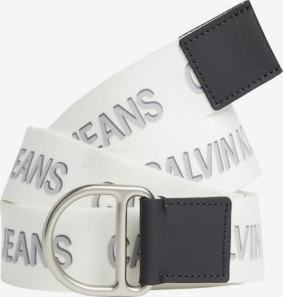 Calvin Klein Jeans Ceinture en noir / blanc, Vue avec produit
