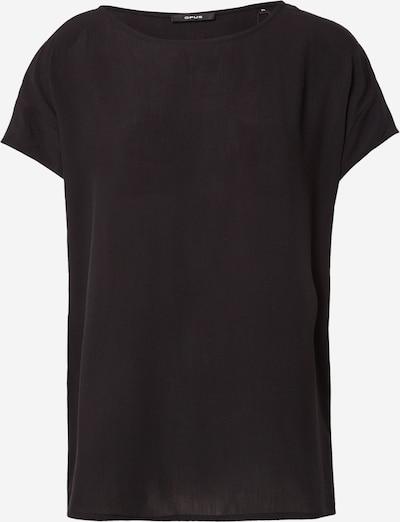 OPUS T-shirt 'Skita' en noir, Vue avec produit