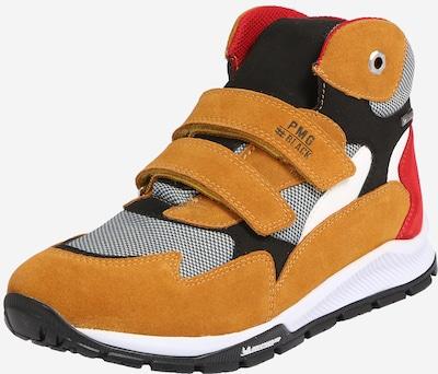 PRIMIGI Sneaker 'LAB GTX 64243' in goldgelb / rot / schwarz / weiß, Produktansicht