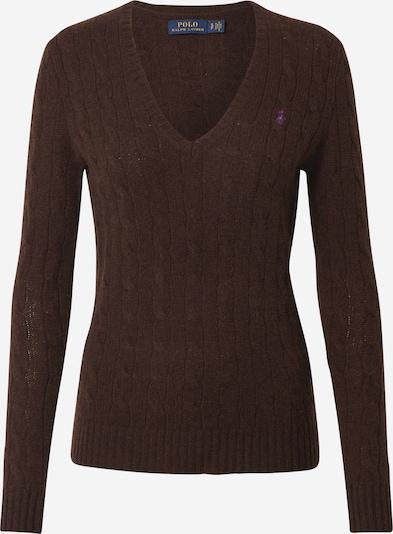 POLO RALPH LAUREN Pullover 'Kimberly' in dunkelbraun, Produktansicht