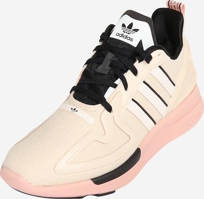 ADIDAS ORIGINALS Sneaker 'ZX 2K FLUX' in beige / schwarz / weiß, Produktansicht