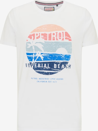 Petrol Industries Shirt in de kleur Gemengde kleuren / Wit, Productweergave