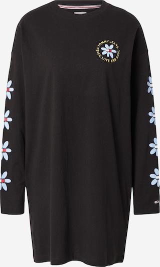 Tommy Jeans Φόρεμα σε μπλε μαρέν / γαλάζιο / κίτρινο / μαύρο / λευκό, Άποψη προϊόντος