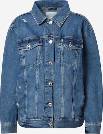 TOM TAILOR DENIM Between-Season Jacket in Blue