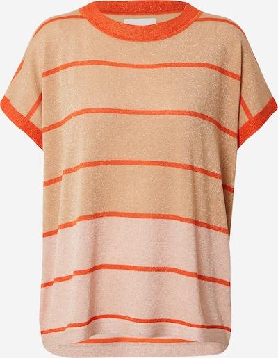 Tricou 'DARLENE' NÜMPH pe bej / portocaliu / portocaliu deschis, Vizualizare produs