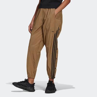 ADIDAS ORIGINALS Broek in de kleur Bruin / Zwart, Modelweergave