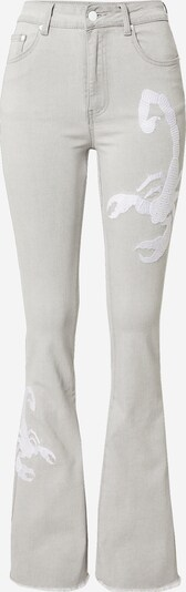 VIERVIER Jeans 'Franka' in grey denim, Produktansicht
