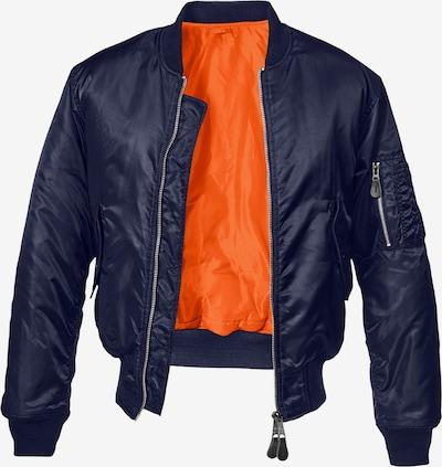 Brandit Tussenjas in de kleur Navy, Productweergave