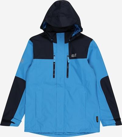 JACK WOLFSKIN Chaqueta de montaña 'JASPER' en azul claro / azul oscuro, Vista del producto