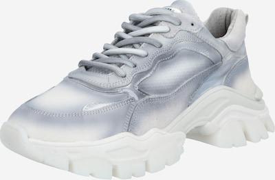 BRONX Baskets basses 'Tayke-Over' en gris clair / blanc, Vue avec produit
