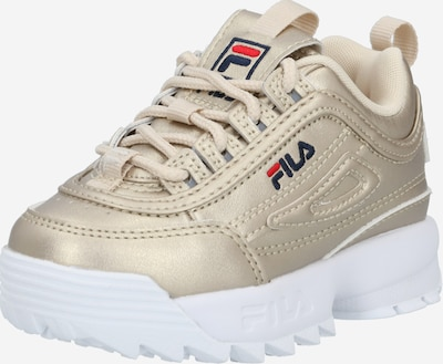 FILA Sneaker 'Disruptor Infants' in navy / gold / rot, Produktansicht