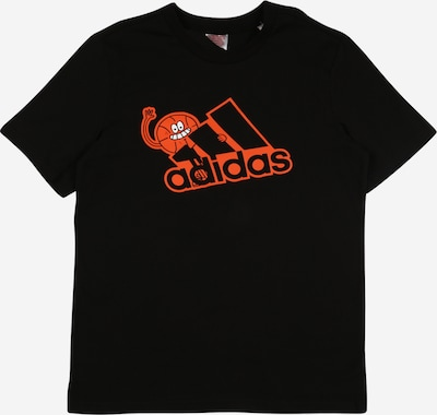 ADIDAS PERFORMANCE Sport-Shirt in orange / schwarz, Produktansicht