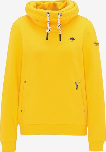 Schmuddelwedda Sweatshirt in gelb, Produktansicht