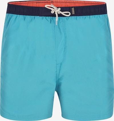 bugatti Shorts de bain 'PIERRE' en turquoise, Vue avec produit