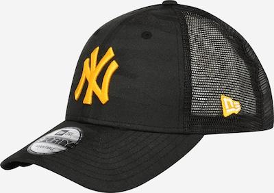 NEW ERA Cap in hellorange / schwarz, Produktansicht