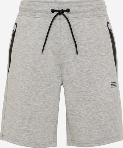 Superdry Pantalon de sport en gris / noir, Vue avec produit