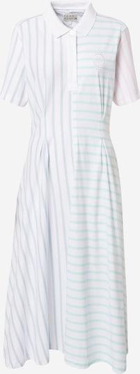 TOMMY HILFIGER Kleid in hellblau / mint / hellorange / weiß, Produktansicht