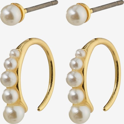 Pilgrim Boucles d'oreilles 'Native Beauty' en or / blanc perle, Vue avec produit