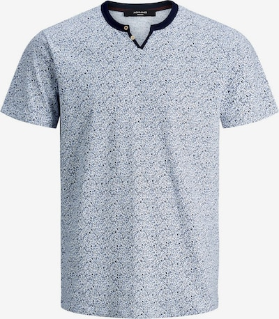 JACK & JONES Shirt in de kleur Navy / Lichtblauw / Wit, Productweergave