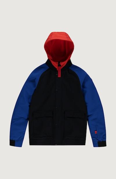O'NEILL Skijacke 'Decombe-Bomber' in blau / rot / schwarz, Produktansicht