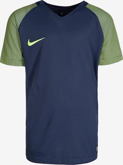 NIKE Trainingsshirt in enzian / oliv / weiß, Produktansicht