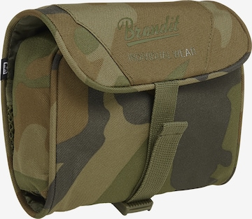 Brandit Toiletry Bag in Green