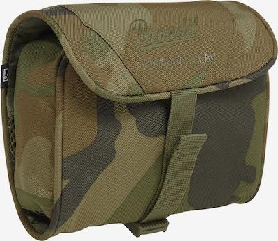 Brandit Kulturtasche in braun / mokka / khaki, Produktansicht