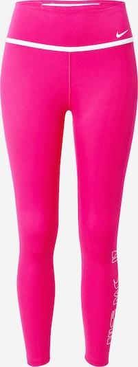 Pantaloni sport NIKE pe fuchsia / alb, Vizualizare produs