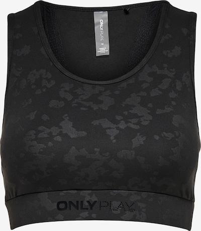 ONLY PLAY Sport-BH 'ONPMASAR' in schwarz / schwarzmeliert, Produktansicht