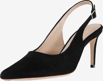 Feraggio Slingpumps in schwarz, Produktansicht