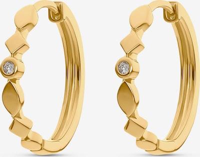 Guido Maria Kretschmer Jewellery 'Creolen' in gelb, Produktansicht