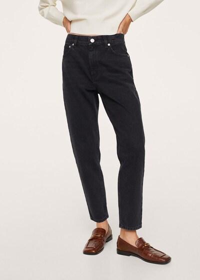 MANGO Jeans 'Mom80' in Black, View model