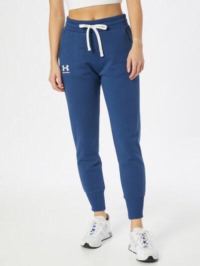 UNDER ARMOUR Sporthose 'Rival' in himmelblau / weiß, Modelansicht