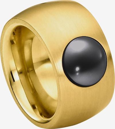 Heideman Ring in gold / grau, Produktansicht