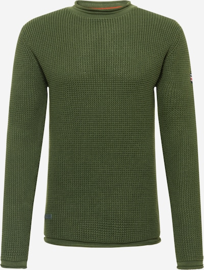 Pepe Jeans Pullover 'STEVEN' in grün, Produktansicht