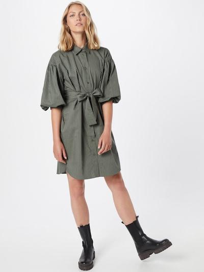 Rochie tip bluză 'YokoI' InWear pe verde închis, Vizualizare model