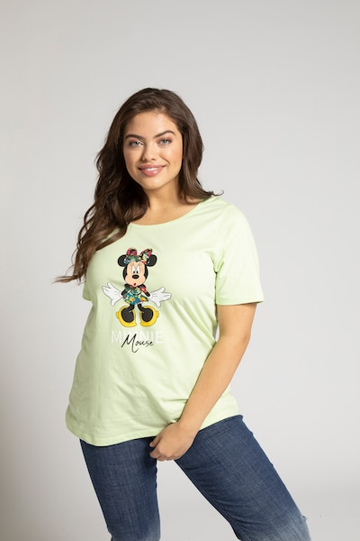 Ulla Popken Shirt in pastellgrün: Frontalansicht