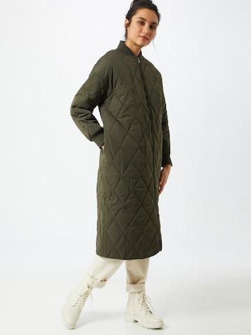 ABOUT YOU Prechodný kabát 'Lexa' - Želená