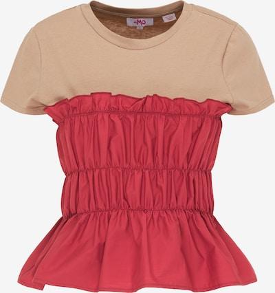 MYMO Tričko - hnedá / červená, Produkt