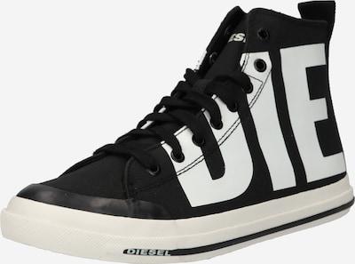 DIESEL Sneaker 'ASTICO' in schwarz / weiß, Produktansicht