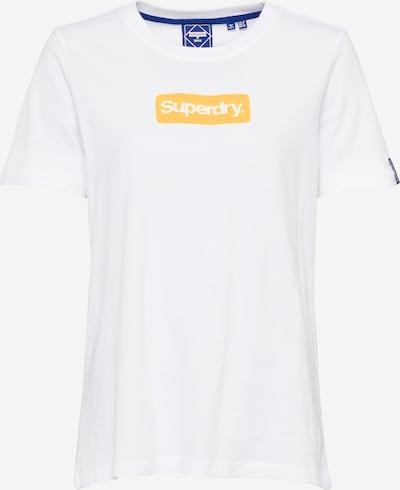 Tricou Superdry pe galben închis / alb, Vizualizare produs