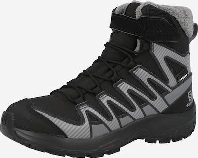 SALOMON Boots in grau / schwarz, Produktansicht