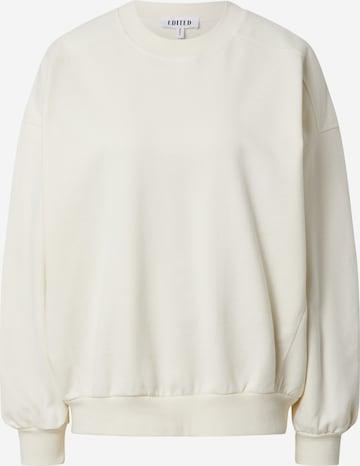 EDITED Sweatshirt 'Lana' in Yellow