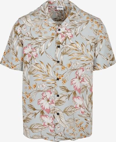 Urban Classics Hemd in beige / hellblau / khaki / rosa / weiß, Produktansicht
