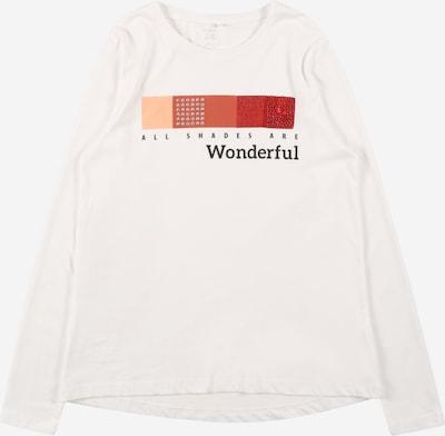 Tricou NAME IT pe portocaliu / roșu / negru / alb, Vizualizare produs