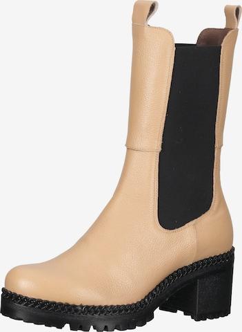 Wonders Chelsea Boots in Beige