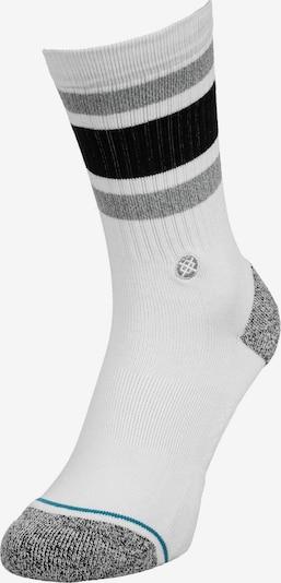 Stance Socken in himmelblau / grau / schwarz / weiß, Produktansicht