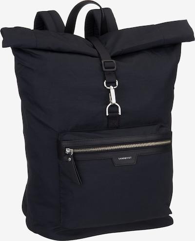 SANDQVIST Rucksack / Daypack ' Siv Backpack ' in schwarz, Produktansicht